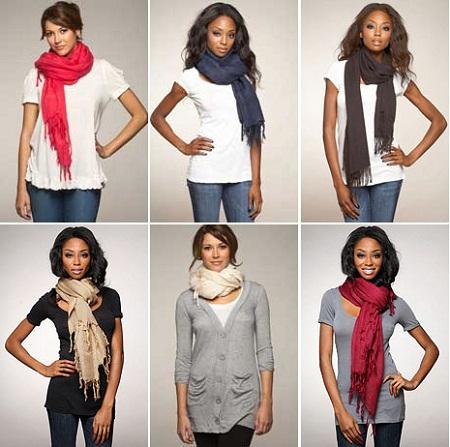 Photo Credit: betty2310.wordpress.com The versatility of the scarf is amazing!