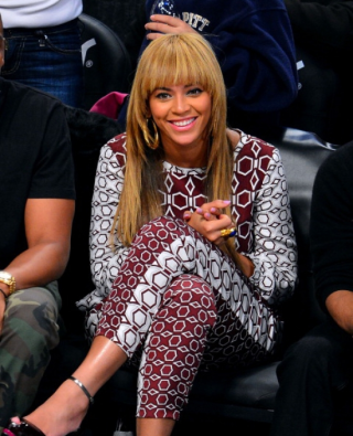 Since Bey is rocking it..you can expect it to pop up more as the year goes on